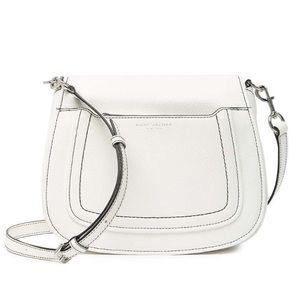 Marc Jacob Empire City White leather purse
